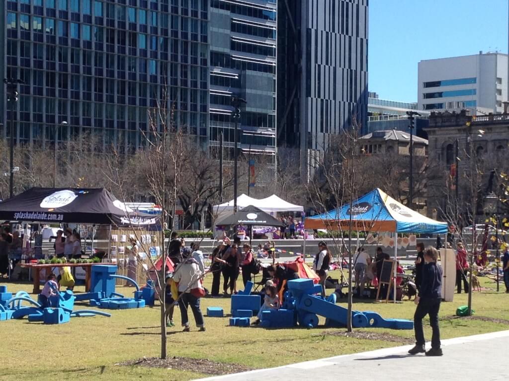 Victoria Square, Adelaide, South Australia, Free WIFI in the city!