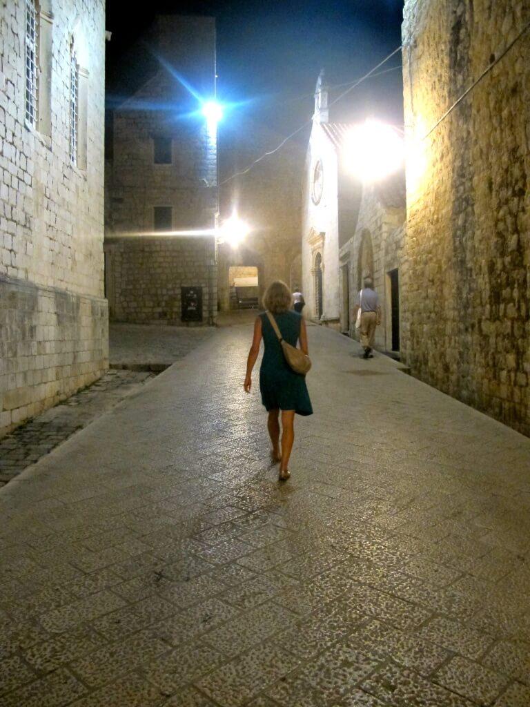 Walking in Dubrovnik, Croatia