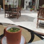 Coca Leaf Tea, Good for altitude sickness, Cusco, Peru, South America