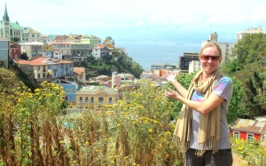 Wing Woman Adventures presents the view over Valparaíso, Chille