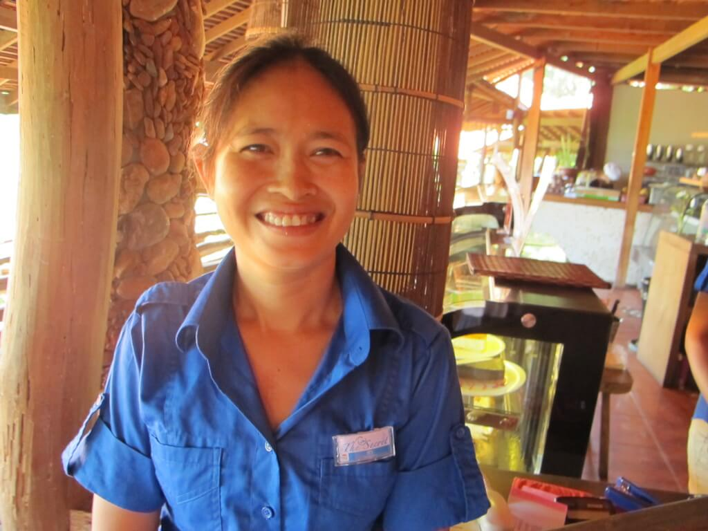Beautiful Cambodian hospitality, Veranda Natural Resort, Kep