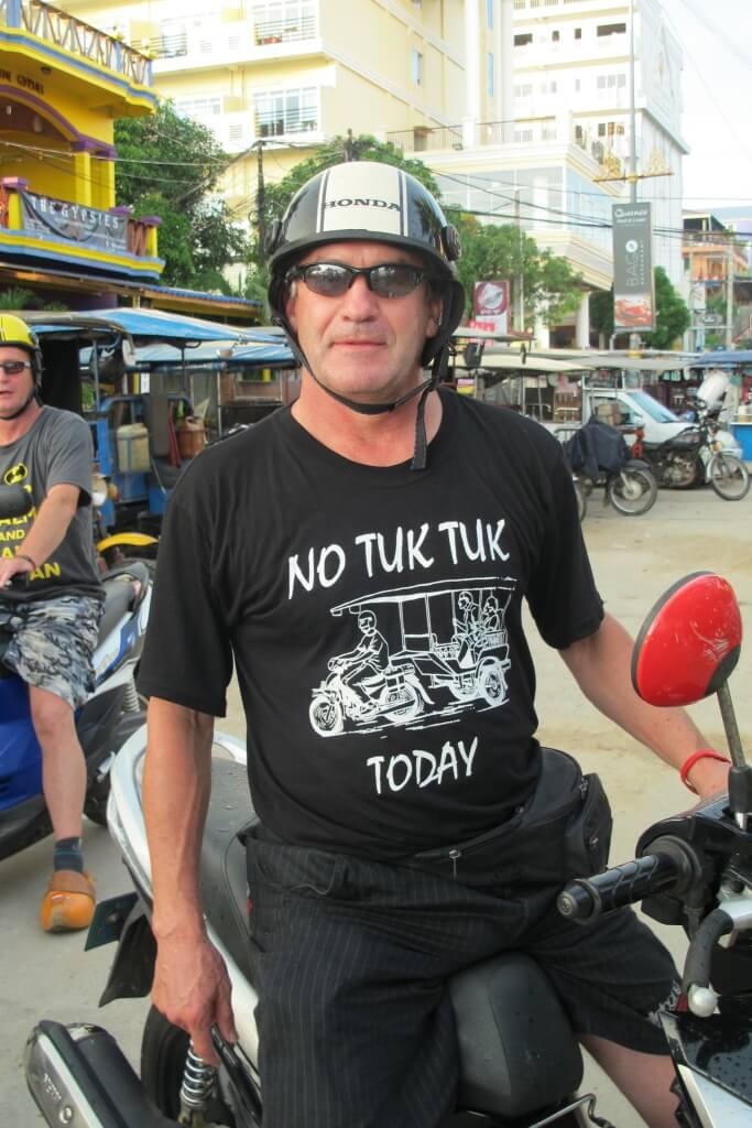No Tuk Tuk Today, Sihanoukville, Cambodia