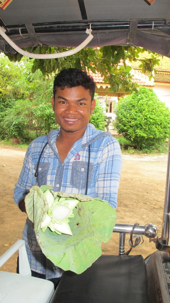 Flowers for sale, Cambodia