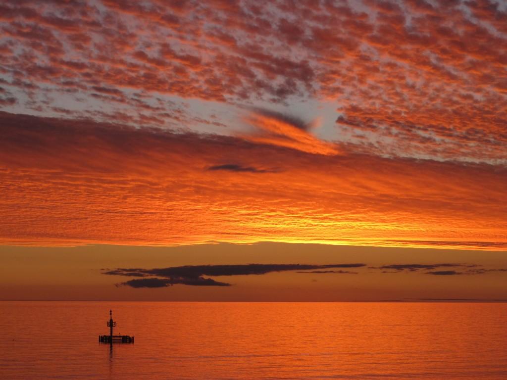 Sunset at Grange Beach, Adelaide, South Australia