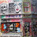 Street art on Rue Marie-Anne