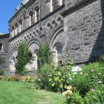 Beautiful grounds at the University of Toronto