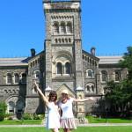 Rey and Sally Watson at the University of Toronto