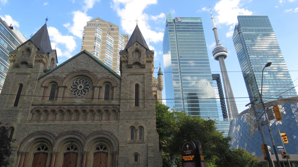 Old and the new, Toronto