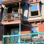 Quirky balconies, Le Plateau, Montreal