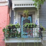 Quebec balcony, Le Plateau, Montreal
