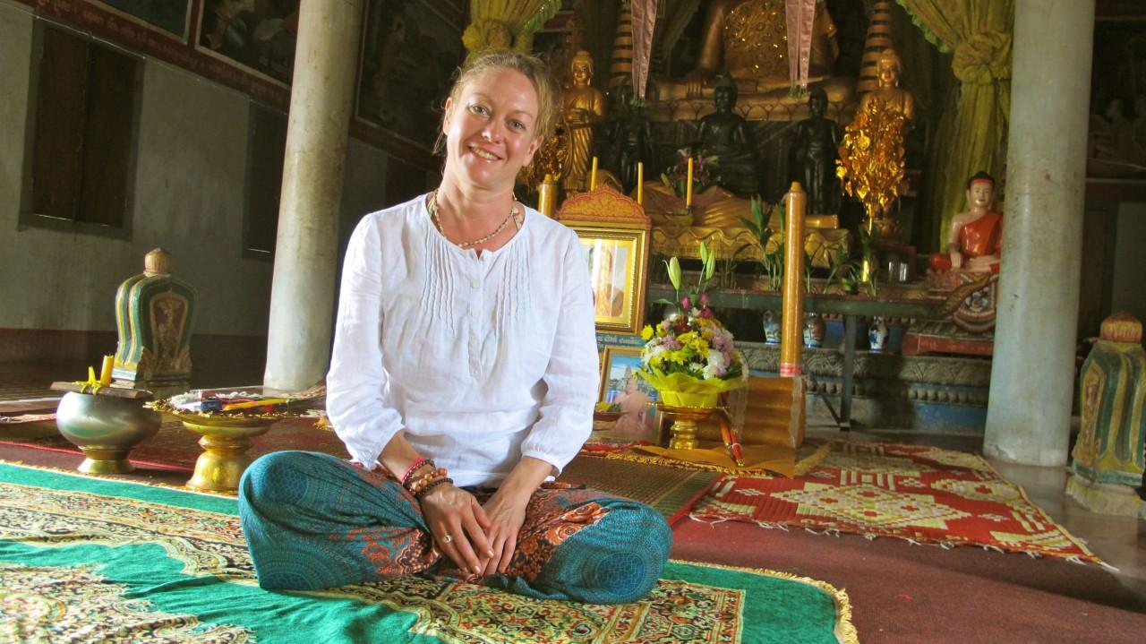 Pagoda, Siem Reap, Cambodia
